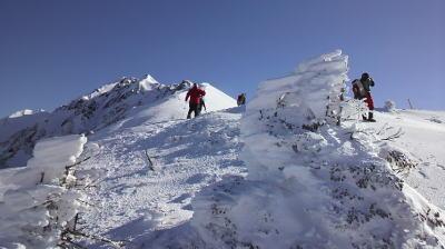 丸山までの登り