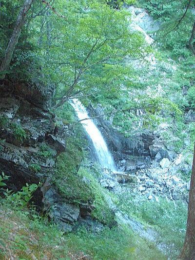 左俣の大滝