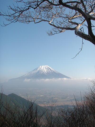 端田峠からの富士山