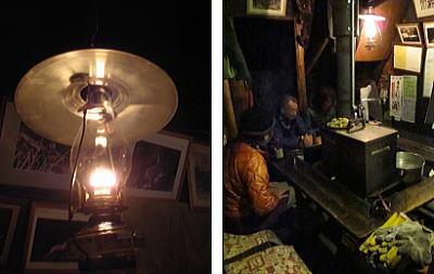 ランプとストーブ