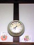 スミス社の時計と絵手紙.JPG