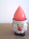サンタの蝋燭です♪.JPG
