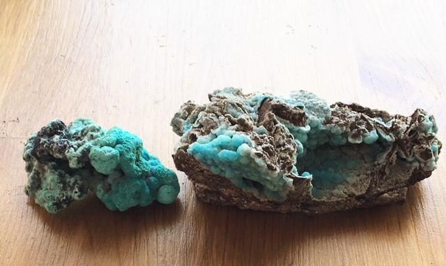 スミソナイト原石1