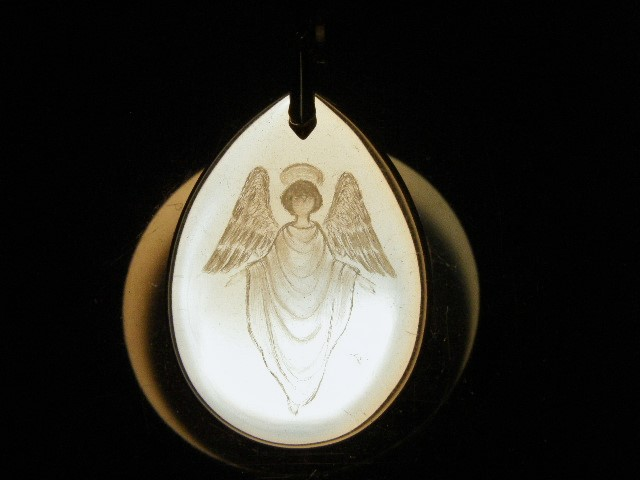 SHRI天使の刻印ペンダント8 水晶-3