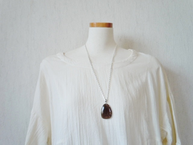 SHRI天使の刻印ペンダント 茶水晶7-6