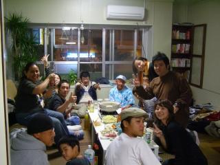鍋パーティー