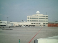 那覇空港 飛行機の中から