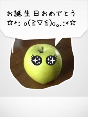 キャラカメラ りんご