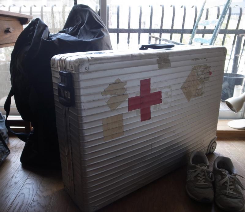 仕入れ旅スーツケース