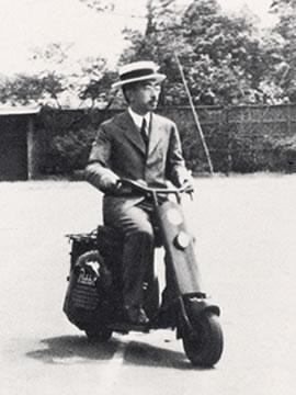 天皇バイク