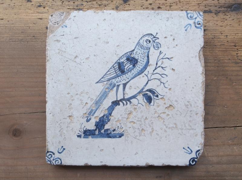 タイル鳥2