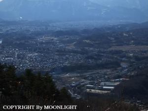 宝登山からの風景