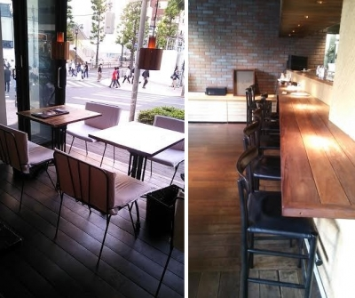 渋谷「24/7 coffee & roaster」店内
