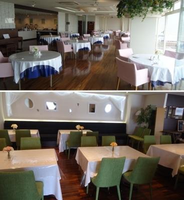 御宿「サヤン・テラス」レストラン