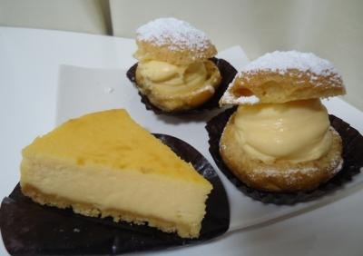 赤羽橋「ルスルス」チーズケーキ シュークリーム