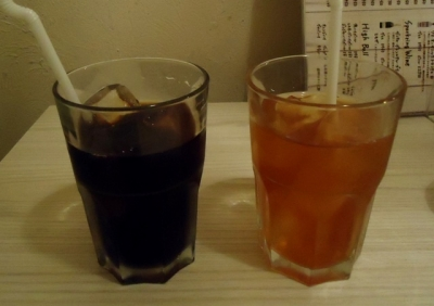 池袋「ストファーズ」ドリンク アイスコーヒー