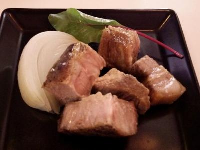 六本木フィオーリア アリアブル ポーク肉