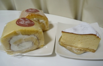 白金台「La Farine ラ・ファリーヌ」ロールケーキ チーズケーキ