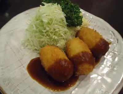 名古屋「すゞ家 大須赤門店」カニクリームコロッケ