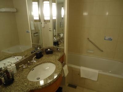 名古屋マリオットアソシアホテル コンシェルジュフロア デラックスダブルバスルームお風呂