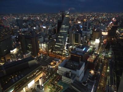 名古屋マリオットアソシアホテル コンシェルジュフロア デラックスダブル 眺望昼夜