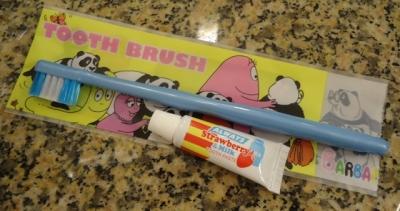 名古屋マリオットアソシアホテル子供用歯ブラシ