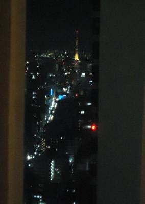 名古屋マリオットアソシアホテル コンシェルジュラウンジ夜景