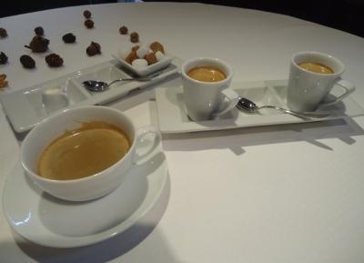 「ジョンティアッシュ」ランチフルコース コーヒー ダブルエスプレッソ
