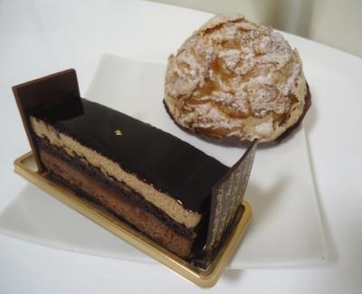 名古屋 ミッシェル・ブラン チョコケーキ