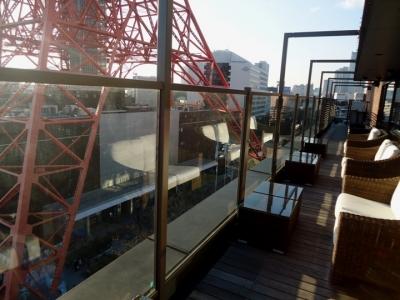 WAKANUI ワカヌイ テラスから東京タワー