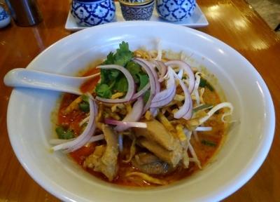 赤坂 タイ料理「スアンサワン」カオソイ