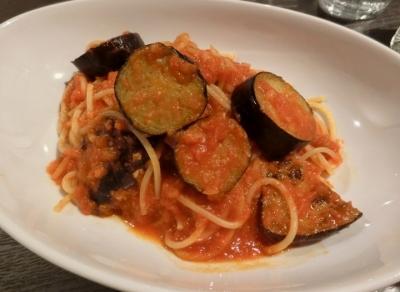 東麻布イタリアン「TRATTORIA Sette colli セッテ コッリ」ランチトマトパスタ