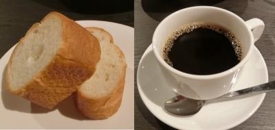 東麻布イタリアン「TRATTORIA Sette colli セッテ コッリ」ランチパンコーヒー