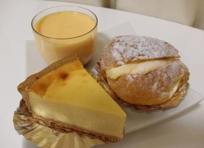 三田「欧風菓子とばや」プリン シュークリーム チーズケーキ