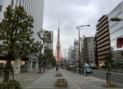 桜田通り東京タワー