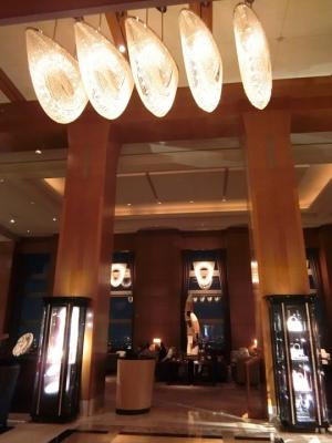 リッツカールトン東京 45階 ロビー