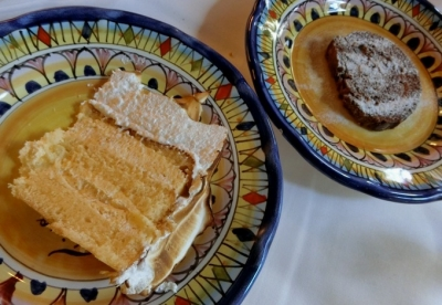 六本木 イル フィーゴ インゴルド IL FIGO INGORDO デザート チョコレートケーキ