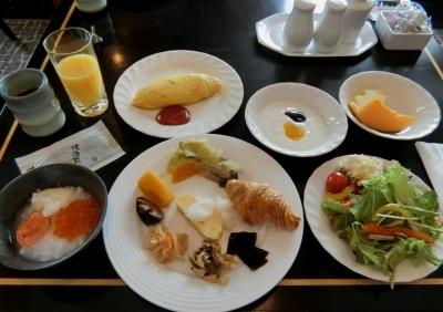 リーガロイヤルホテル大阪 クラブフロア宿泊 ラウンジ 朝食