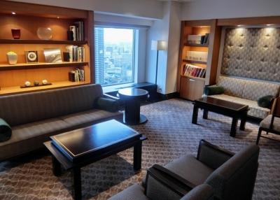 リーガロイヤルホテル大阪 クラブフロア ザ・プレジデンシャルタワーズ ダブルルーム ライブラリー