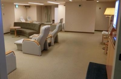 リーガロイヤルホテル大阪 プール更衣室リラクゼーションルーム