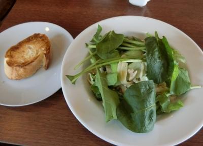 東麻布/赤羽橋 イタリアン「 Zucca ズッカ」緑黄色野菜と地鶏挽肉のクリームソース 平打ちパスタ