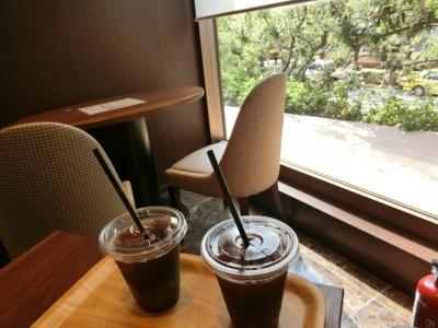 恵比寿「俺のBakery&Cafe 俺のベーカリー&カフェ」水出しアイスコーヒー