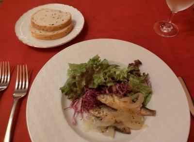 麻布十番 LA COMETA ラ・コメータ ランチ前菜