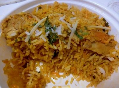 六本木 インド料理「MOTI モティ」チキンハイドラバーディ