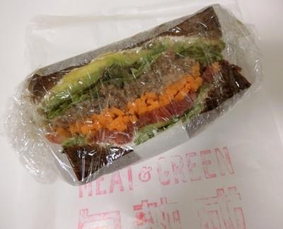 GINZA SIX「MEAT&GREEN ミート&グリーン 旬熟成」バインミーサンド