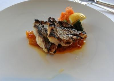 竹芝「ツキ シュール ラメール」ランチ ドックオブザベイ 本日の鮮魚