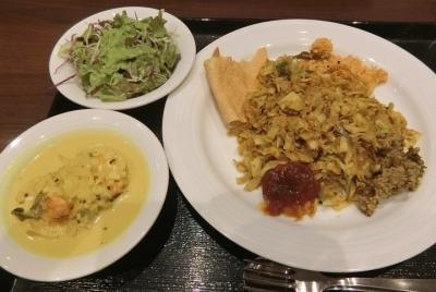 日本橋 スリランカ料理「KANDY キャンディ」コットウロティ