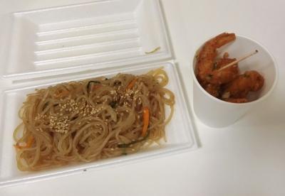 東麻布 かかしまつり 2017 韓国料理 屋台 チャプチェ
