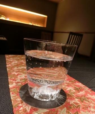六本木 龍吟 富士山グラス