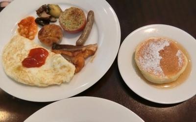 グランドハイアット東京「The French Kitchen フレンチキッチン」朝食ブッフェ 卵料理